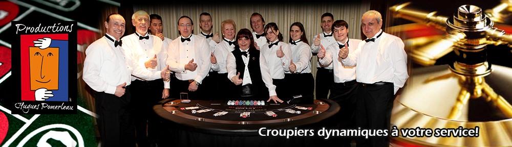 Un site pour nos soirées casino!